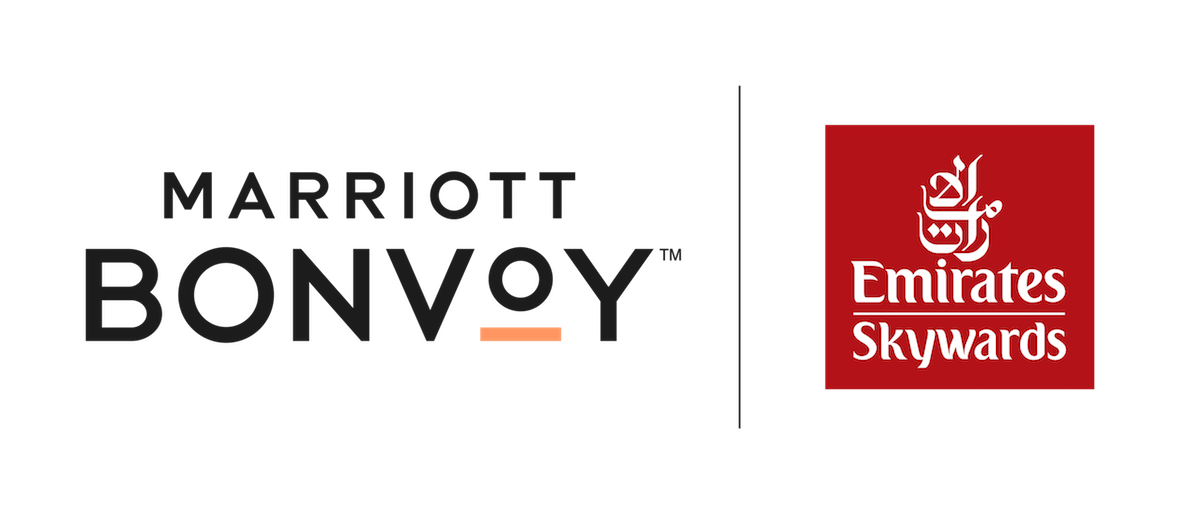 Marriott Bonvoy and Emirates Skywards logos