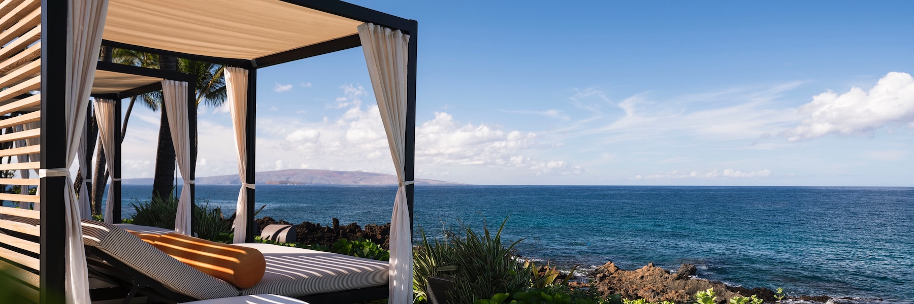 Ocean view from Wailea Beach Resort - Marriott in Maui, Hawaii